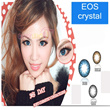 SOFTLENS EOS CRYSTAL 2 TONES *CIRCLE EFFECT ON YOUR BEAUTY EYES*