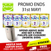 ◄ NESTLE NAN ► CARTON(6) FREE DELIVERY ★ Baby Milk Optipro / Hypo-Allegernic ★ Official SG Stock