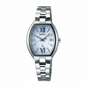 セイコー SEIKO ルキア LUKIA 腕時計 ウォッチ ソーラー電波修正 チタン サファイアガラス 10気圧防水 SSQW027 レディース【4954628437723-SSQW027】