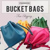 【GSS SALE】★【Free Qxpress】★STARBAGS Buckle Bucket ShoulderBag/Handbag/Work Bag/Tote/Big Bag/Cross Body Bag/Clutch-LB-CA12