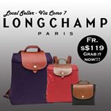 LONGCHAMP LE PLIAGE BACKPACKS AND TOTES ★100% GUARANTEED AUTHENTIC★ SG LOCAL SELLER by VIACOMO7