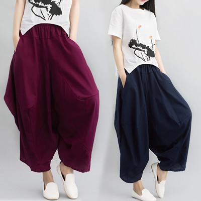 韓国ファッション 春  ワイドパンツ   ★キレイめワイドパンツ★ワイドパンツ、トレンドアイテム、ウエストゴム、ストレッチパンツ、ロングパンツ