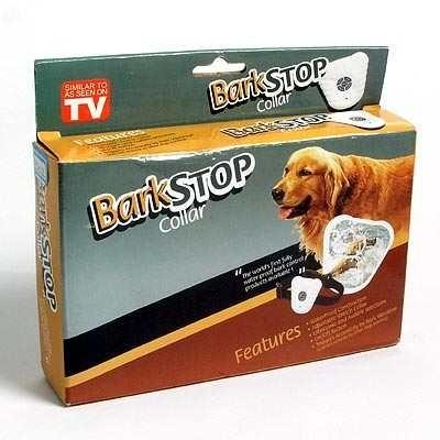【送料無料】全米人気の最新ペット商品が日本!最新版しつけ用品!犬の無駄吠えを止める!バークストップ(簡易日本語取扱説明書付)の画像