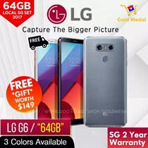 LG G6 |  64GB |  2 YEARS LG SG WARRANTY | FREE LG G6 ACCESSORIES WORTH $88