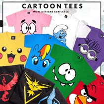 ★★Customise Name  29/09/16★★ Kidswear/Adults Tee/Cartoon Tee//Kids Tee//SG fashion/Summerwear/T - shirt/Tops/Casual wear/Unisex/Top/Fast Shipping/ pokemon/ SG Seller