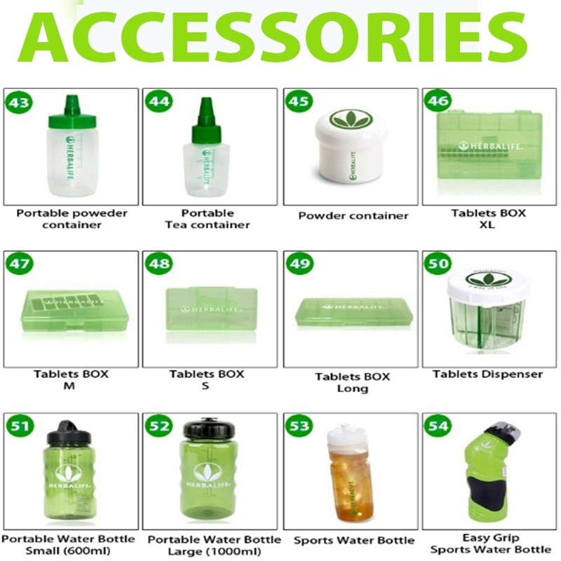 Qoo10 - 【HERBALIFE】Accessories Collections / Bottle ...