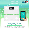 [100% Original] YUNMAI MINI Smart Weighing Scale Support Android 4.3 iOS7.0 Bluetooth4.0 Losing Weight Digital Scale Body Fat Scale [ BEST SELLER !]