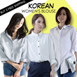 Korean Shirt Loose Fit Fashion Blouse Dress Long T-Shirt Buy 2 Free Shipping