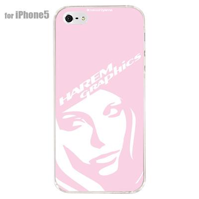 【iPhone5S】【iPhone5】【HAREM graphics】【iPhone5ケース】【カバー】【スマホケース】【クリアケース】 HGX-IP5C-021Eの画像