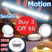 【BUY 3 GET $6 OFF】Portable Wireless Premium Motion Sensor LED Lights With Warranty
