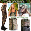 Camouflage Leggings/ Camo Yoga pants/Stylish legging/Tank Tops/undergear/Caps/Travel luggage/Shoes bag/ Foldable Bags/Cabin Bag/ Backpack/sling/Tote/All Camo.