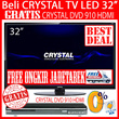[1+1]BEST DEAL!!! Beli CRYSTAL LED TV 32inch Imagine CTV-3200 GRATIS DVD 910 HDMI Full HD [FREE JADETABEK]