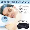 [3 PCS $5.90] Sleepping Eye Mask / Eye Cover / Block 99% Light / Bring Dark Night!