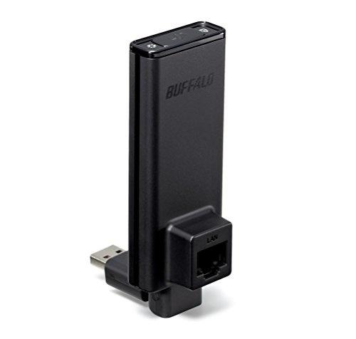 【クリックで詳細表示】BUFFALO 11n/a/g/b 300Mbps 簡単無線LAN子機 WLI-UTX-AG300/C