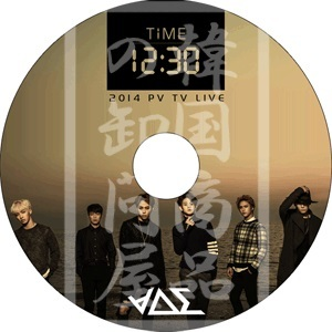BEAST B2ST ビースト 2014 TIME 12:30 PV  TV Collection 音楽番組収録DVD【韓流DVD ◆K-POP DVD◆ 韓流グッズ】タイムの画像