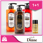 [1+1] Moist Diane Shampoo/Conditioner ★ CONTAINS MOROCCAN ARGAN OIL ★ 400/500ml Extra Damage Repair/Moist and Shine/Volume and Scalp Care/ Extra Shine/Extra Vital Shampoo/Conditioner