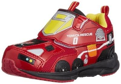 (A倉庫)【TOMICA】トミカ 10570 ハイパーレスキュー 子供靴 スニーカー 男の子 マジックテープ モデル キッズ キャラクター シューズの画像