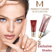 ★Missha Exclusive Shades BB Cream★ M Perfect. Achieve baby skin with face makeup/mask/cream. Great for travel/gift bag. nt loreal etc