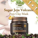 Time sale Promo *Buy 1 get 1* Innisfree Super Jeju Volcanic Pore Clay Mask