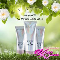 Qoo10 $8 Coupon ★★ Bestseller ★ KLARITY LASERTOX CC White Lotion 30ML/100ML 女人我最大 Recommended U.P $59