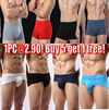 Buy 5 get 1 free!Mens Brief/3D-Convex mens underwear/Modal Mens boxer/Mens panty/Breathable and Soft Material Underwear/SG seller Fast shipping