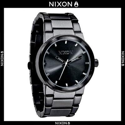 【クリックでお店のこの商品のページへ】[NIXON][BRAND AVE] [グローバルセラー】[NIXON] A160-001/米国本社製品/セサンプム/時計/ファッション時計/ニューヨーク在庫状況について/ 無料配送