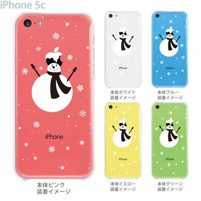 【iPhone5c】【iPhone5c ケース】【iPhone5c カバー】【ケース】【カバー】【スマホケース】【クリアケース】【クリアーアーツ】【雪ダルマ】 08-ip5c-ca0103の画像