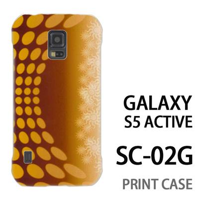 GALAXY S5 Active SC-02G 用『No3 SUN』特殊印刷ケース【 galaxy s5 active SC-02G sc02g SC02G galaxys5 ギャラクシー ギャラクシーs5 アクティブ docomo ケース プリント カバー スマホケース スマホカバー】の画像