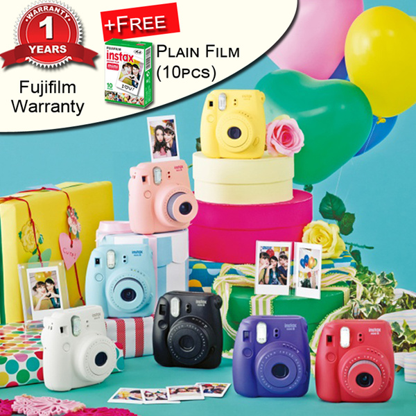 [Fujifilm]Instax Mini 8?1 FREE instax Plain Film and 1 Year Warranty? Deals for only S$129 instead of S$0