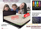 Best value for money ! Bedz n Dreamz New Generation Bonnell Spring Mattress. King/Queen/Super Single/Single Sizes Available. FREE Delivery !!!