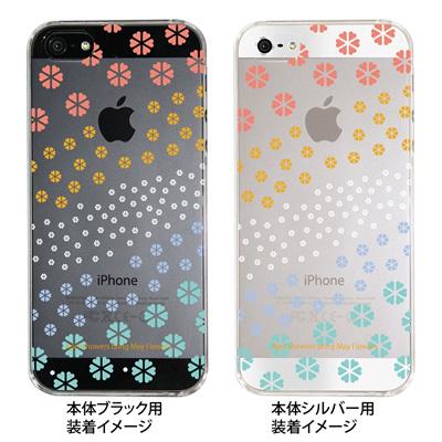【iPhone5S】【iPhone5】【Clear Fashion】【iPhone5ケース】【カバー】【スマホケース】【クリアケース】【May Flowers】 ip5-09-mf0006の画像