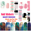 [Mamemon Discount from $1 onwards!!]★ Lovely Nail Stickers ★ Elegant Nail Foils ★  Instant Beauty ★ Great as GIFTS ★ Glam up for NEW YEAR ★