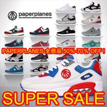[本日限定特価割引! ]◆全商品 PAPERPLANES 50%-70%sale!SNSで話題の 韓国人気スニーカーコレクション エアクッションスニーカー /ランニングシューズスポーツシューズ パンプ
