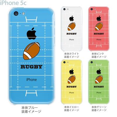 【iPhone5c】【iPhone5c ケース】【iPhone5c カバー】【ケース】【カバー】【スマホケース】【クリアケース】【クリアーアーツ】【ラグビー】 10-ip5c-ca0063の画像