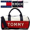 【選べる3色】トミーヒルフィガー TOMMY HILFIGER ミニボストン ダッフル コットンキャンバス 6922644t 【Luxury Brand Selection】
