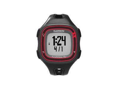 【送料無料】GARMIN ガーミン ForeAthlete10J BlackRed フォアアスリート10J ブラックレッド GPSマルチスポーツウォッチ メンズ 腕時計【103910】の画像