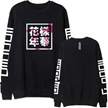 BTS New Arrival Long Sleeve Tee T Shirt Ladies Cotton Clothing Couple Tshirt For Women And Men Winter