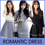 [Chicline] 2015 Korean dress  [UP TO 65% OFF - women fashion women clothing Korean Formal Dress Collection] 2015 Customer Satisfaction Best Item wedding