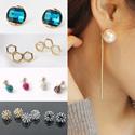 [HowDY]♡ Earring - Titanium Pin ♡ Korea Fashion Accessories / Jewelry