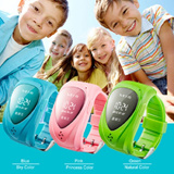 [EasyN] Kid GPS Watch ^Real-time locating/SOS Emergency Alarm/Remote Monitor *Oversea shipping choose from 2 colors!*