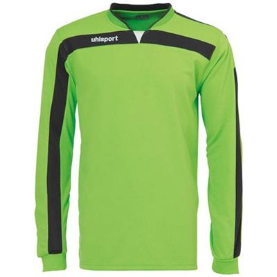 ウールシュポルト(uhlsport) リガ ゴールキーパーシャツ 1005571 グリーンF/BLK 【サッカーウェア ウエア GK 長袖】の画像