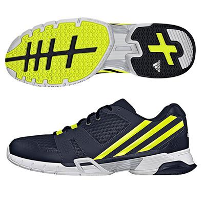 アディダス (adidas) Volley Team 3(コアブラック×ソーラーイエロー×クリアグレー) B33044 [分類:バレーボール バレーボールシューズ] 送料無料の画像