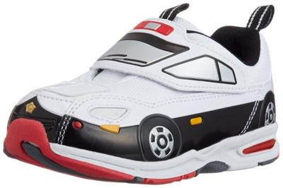 (B倉庫)TOMICA トミカ 10580 光る靴 子供靴 スニーカー 男の子 キャラクターシューズ キッズ シューズ 靴 パトロールカー パトカーの画像
