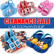[Clearance] $6.9/ $8.9 ★ Kids Slippers In/Outdoor Shoes Sandal Aqua Water Slippers