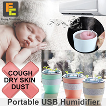 [Funky creations] Mini Humidifier For Home Work Car Office