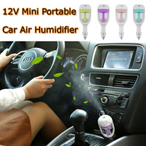 12V Car Steam Humidifier Air Purifier Aroma Diffuser Essential oil diffuser Aromatherapy Mist Maker Fogger