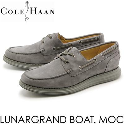 コールハーン ルナグランド ボートモック COLE HAAN LUNARGRAND BOAT MOC メンズ シューズ デッキシューズの画像