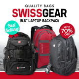 15.6 INCH SWISSGEAR LAPTOP BACKPACK NOTEBOOK BAG BACKPACK OFFICE SCHOOL BAG. ♥Christmas gift♥WATERPROOF HIGH QUALITY AND CAPACITY!