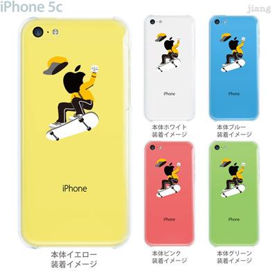 【iPhone5c】【iPhone5c ケース】【iPhone5c カバー】【ケース】【カバー】【スマホケース】【クリアケース】【クリアーアーツ】【スケートボード】 10-ip5c-ca0092の画像