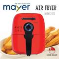 Mayer Air Fryer MMAF2 - 80% Less Fat Healthier Cleaner - 1 Year Warranty.